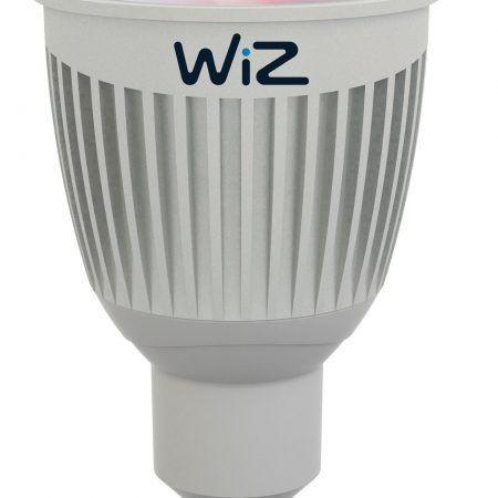 2 ampoules led réflecteur GU10 345 Lm=35 W variation de blancs et couleurs, WIZ