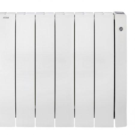 Radiateur électrique connecté à inertie sèche 1500 W ACOVA Taffetas 2 blanc