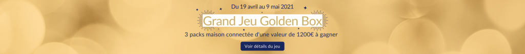 bannière concours golden box
