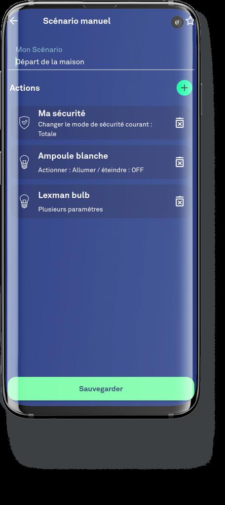 écran application enki sécurité