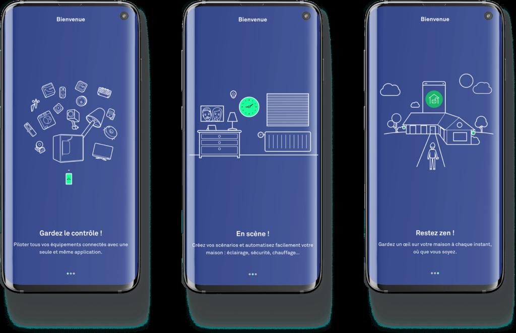 application mobile enki pour la maison connectée