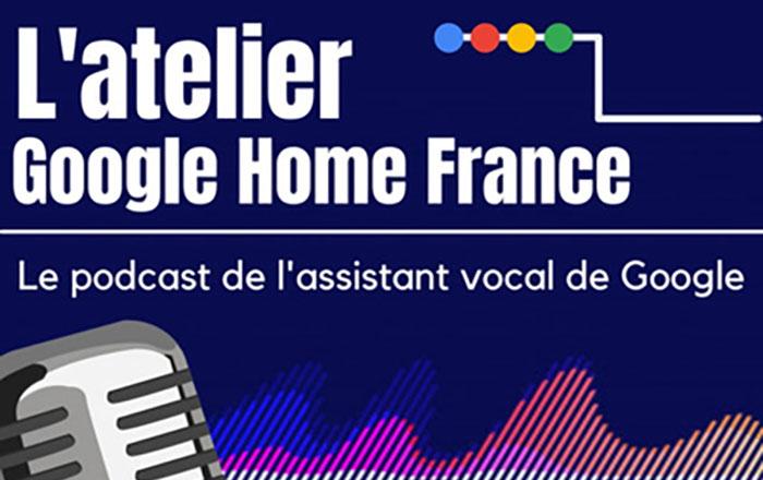 le podcast de l'assistant vocal de google