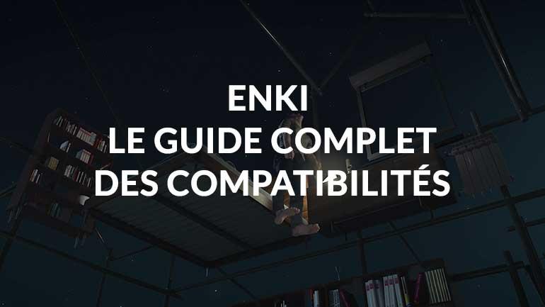 le guide des produits compatibles avec la solution domotique Enki de Leroy Merlin