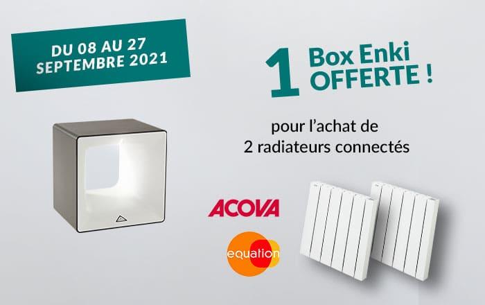 promotion radiateurs acova equation